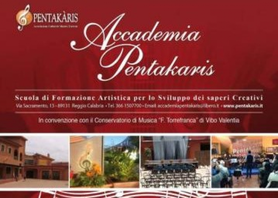 "Domani Open Day all'Accademia dei saperi creativi ""Pentakaris"""
